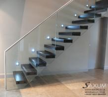 Cantilevered Gullane Stairs