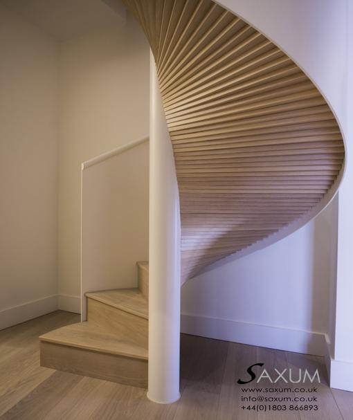 Saxum portfolio for Square spiral staircase
